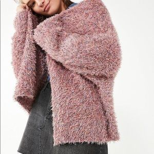 Fuzzy Urban Outfitters cardigan